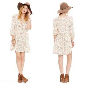 Denim & Supply Floral Babydoll Cottagecore Dress